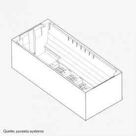 poresta systems Poresta Compact Wannenträger Hoesch Largo L: 200 B: 140 cm
