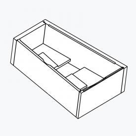 poresta systems Poresta Compact Wannenträger Hoesch Thasos