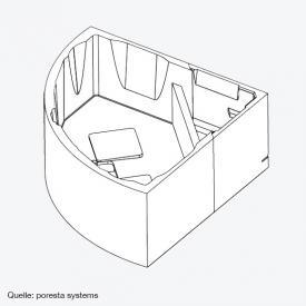poresta systems Poresta Compact Wannenträger Riho Austin