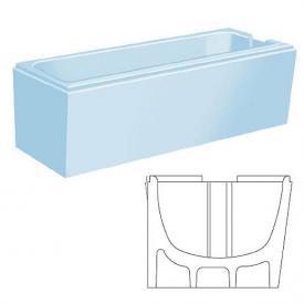 poresta systems Poresta Vario Wannenträger Bette Set L: 170 B: 75 cm