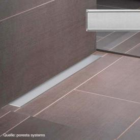 poresta systems Rost für Ablaufrinne Design E