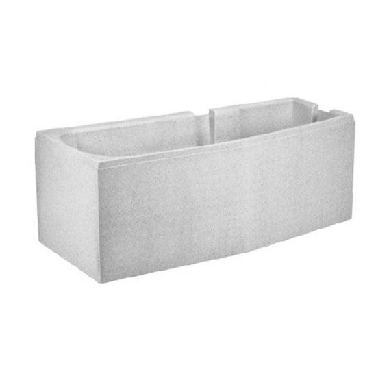 poresta systems Poresta Compact Wannenträger für Duscholux Piccolo Raumspar-Badewanne