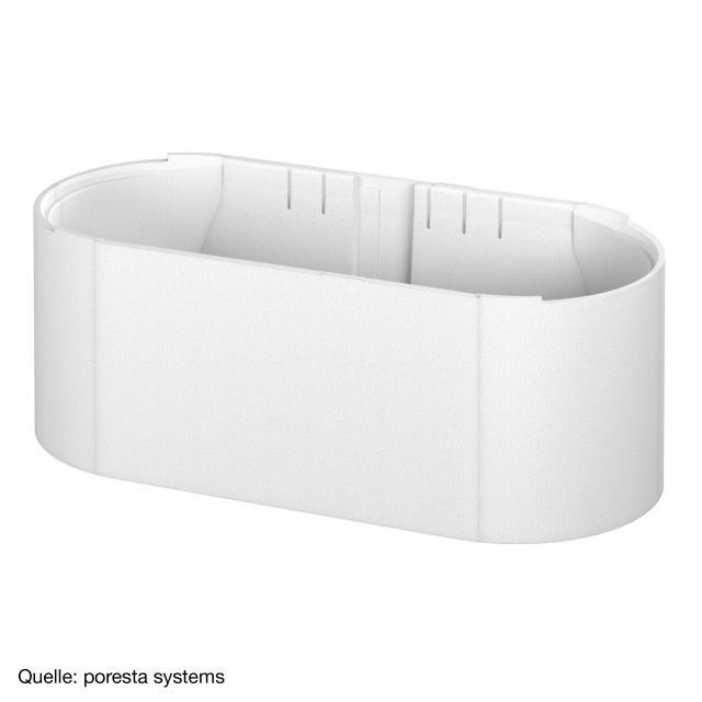 poresta systems Poresta Compact Wannenträger für Bette Starlet Flair Oval Badewanne
