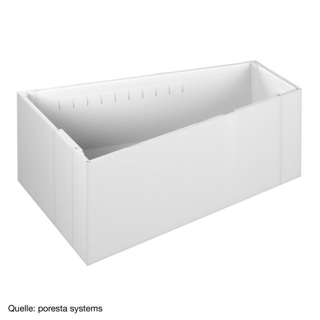poresta systems Poresta Compact Wannenträger für Hoesch Largo Trapez-Badewanne