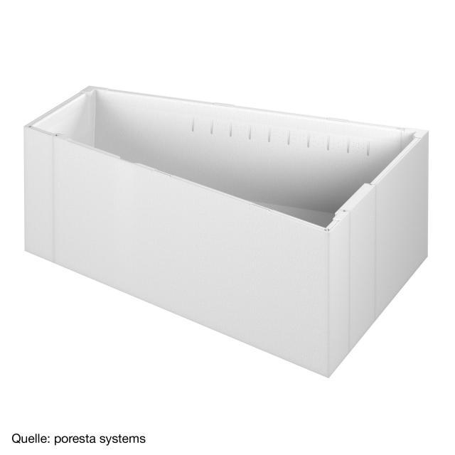 poresta systems Poresta Compact Wannenträger für Villeroy & Boch Loop & Friends Raumspar-Badewanne