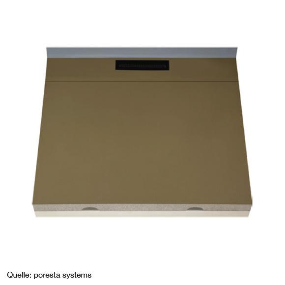 poresta systems limit s 95 duschelement l 120 b 120 h 9 8 cm 20003410 reuter. Black Bedroom Furniture Sets. Home Design Ideas