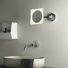 ASTRO-Illumina Mascali LED Wand-Kosmetikspiegel, 5-fach Vergrößerung, 230 V