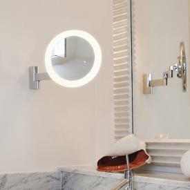 ASTRO-Illumina Niimi LED Wand-Kosmetikspiegel, 5-fach Vergrößerung, 230 V
