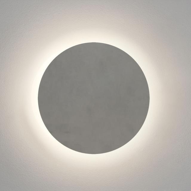astro Concrete Eclipse Round 300 LED Wandleuchte