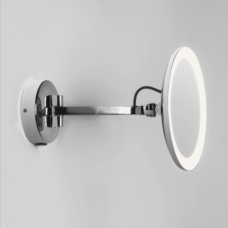 Gut gemocht astro Mascali LED Wand-Kosmetikspiegel, 5-fach Vergrößerung, 230 V NQ54