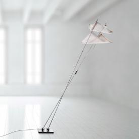 Ingo Maurer Dew Drops Floor LED Stehleuchte mit Dimmer, 2-flammig