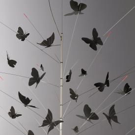 Ingo Maurer Schmetterlingsset zur Pendelleuchte La Festa Delle Farfalle