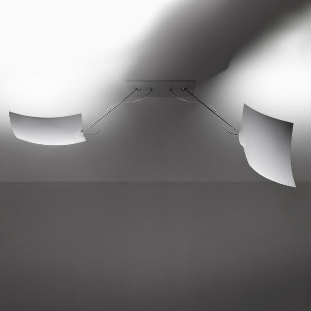 INGO MAURER 2x18x18 LED Decken/Wandleuchte