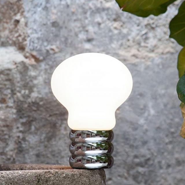 INGO MAURER B.Bulb USB LED Tischleuchte mit D2W