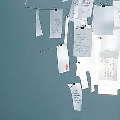 INGO MAURER Ersatzzettel zu Zettel`z 6 Pendelleuchte