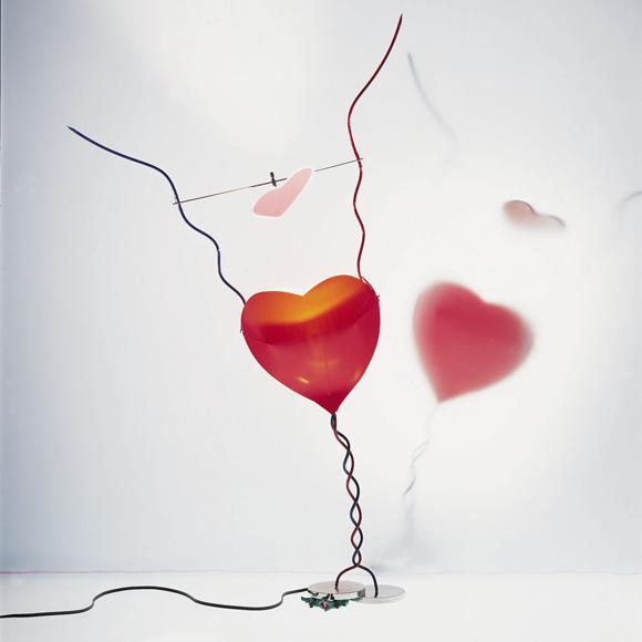 INGO MAURER One From The Heart Tischleuchte mit Dimmer