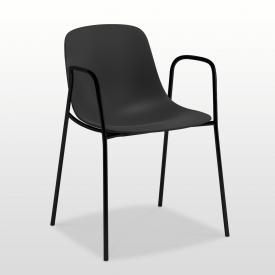 infiniti Pure Loop Mono Stuhl mit Armlehnen