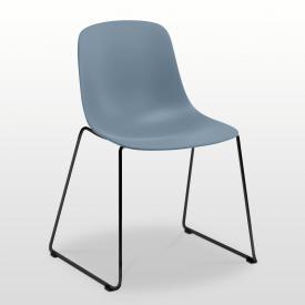 infiniti Pure Loop Mono Stuhl mit Kufen