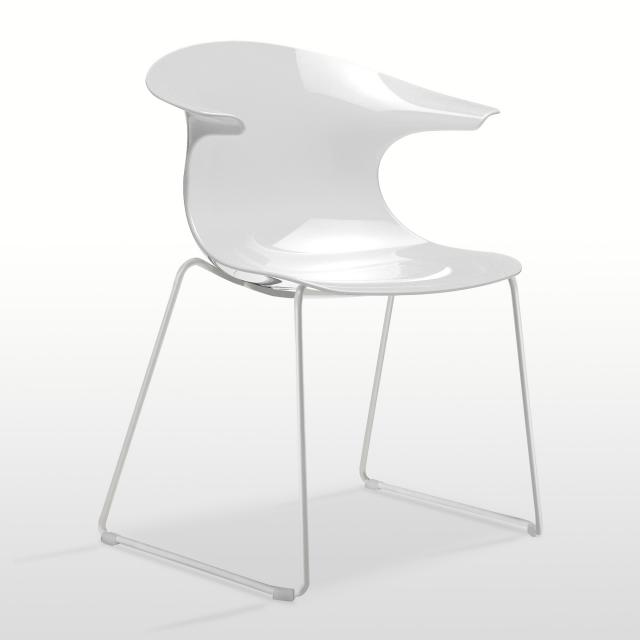 infiniti Loop Stuhl mit Kufen