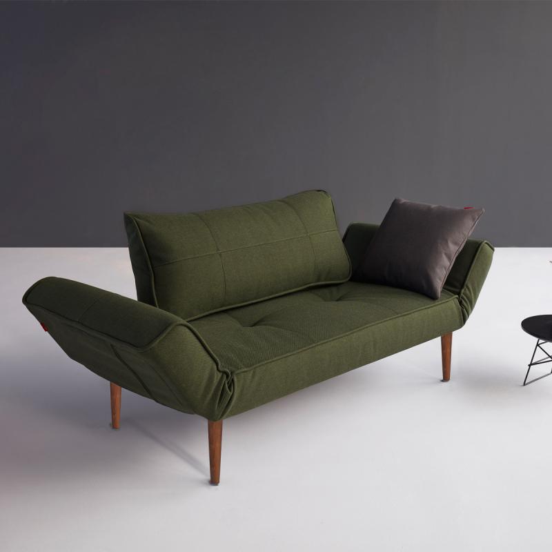 Schlafsofa dunkelgrün  Innovation Zeal Styletto Schlafsofa - 95-740021562-2-10-3 | REUTER