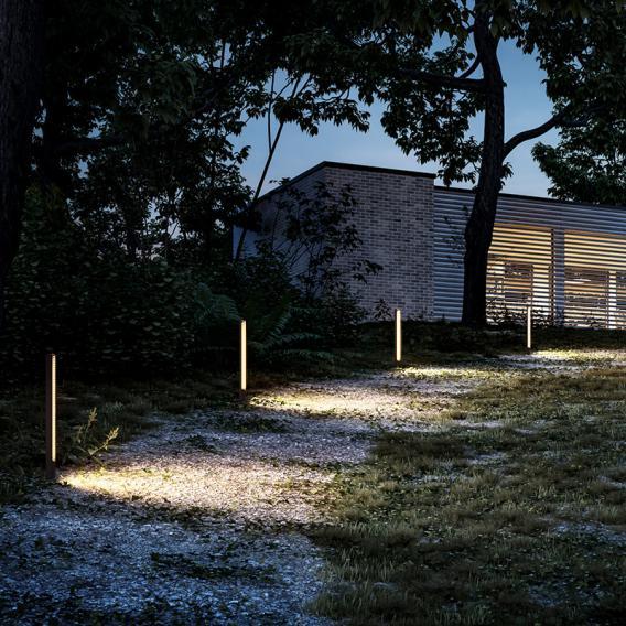 IP44.de lin spike LED Pollerleuchte