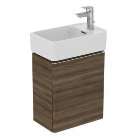 Ideal Standard Adapto Handwaschbecken-Unterschrank mit 1 Tür Front walnuss dekor / Korpus walnuss dekor