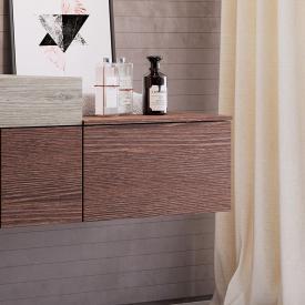 Ideal Standard Adapto Unterschrank Front walnuss dekor / Korpus pinie hell dekor