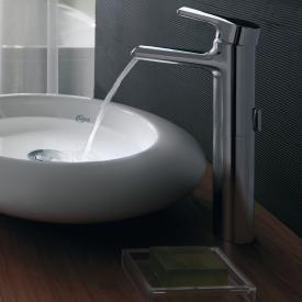 Ideal Standard Attitude Einhebel-Waschtischarmatur WASSERFALL mit verlängertem Sockel ohne Ablaufgarnitur