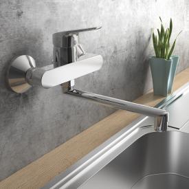 Ideal Standard CeraFlex Einhebel-Wand-Küchenarmatur mit schwenkbarem Rohrauslauf