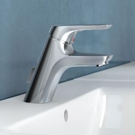 Ideal Standard CeraMix Blue Einhebel-Waschtischarmatur mit flexiblen Anschlussschläuchen mit Ablaufgarnitur