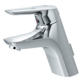 Ideal Standard CeraMix Blue Einhebel-Waschtischarmatur mit flexiblen Anschlussschläuchen, Niededruck mit Ablaufgarnitur