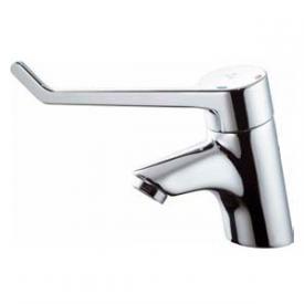 Ideal Standard CeraPlus Einhebel-Waschtischsicherheitsarmatur, Bedienhebel 180 mm ohne Ablaufgarnitur