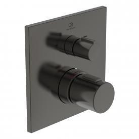 Ideal Standard Ceratherm C100 Thermostat Unterputz, für 2 Verbraucher magnetic grey