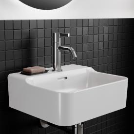 Ideal Standard Conca Handwaschtisch weiß, mit 1 Hahnloch, ungeschliffen, mit Überlauf