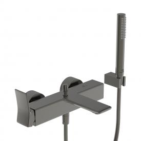 Ideal Standard Conca Wannenarmatur Aufputz mit Brausegarnitur magnetic grey