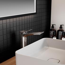 Ideal Standard Conca Waschtischarmatur mit verlängertem Sockel chrom, ohne Ablaufgarnitur
