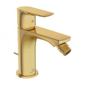 Ideal Standard Connect Air Einhebel-Bidetarmatur mit Ablaufgarnitur brushed gold