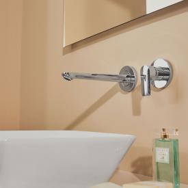 Ideal Standard Connect Air Einhebel-Wand-Waschtischarmatur Unterputz Bausatz 2 chrom, Ausladung: 225 mm