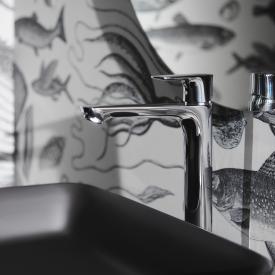 Ideal Standard Connect Air Einhebel-Waschtischarmatur mit verlängertem Sockel mit BlueStart ohne Ablaufgarnitur