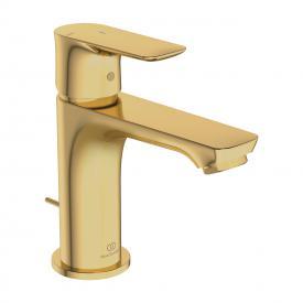 Ideal Standard Connect Air Einhebel-Waschtischarmatur Slim mit BlueStart brushed gold