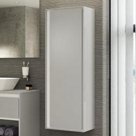 Ideal Standard Connect Air Halbhochschrank mit 1 Tür hellgrau glänzend/weiß matt