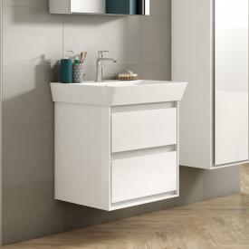 Ideal Standard Connect Air Waschtisch mit Waschtischunterschrank mit 2 Auszügen weiß, mit Ideal Plus