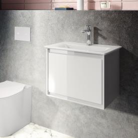Ideal Standard Connect Air Handwaschbecken mit Waschtischunterschrank mit 1 Auszug weiß