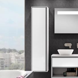 Ideal Standard Connect Air Hochschrank mit 1 Tür weiß glänzend/hellgrau matt