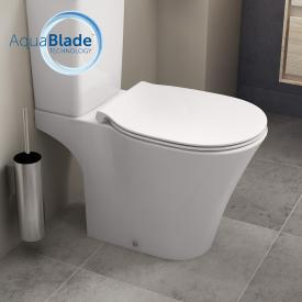 Ideal Standard Connect Air Stand-Tiefspül-Kombination, AquaBlade, Abgang außen waager. weiß