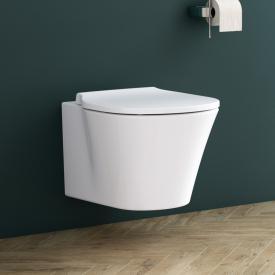 Ideal Standard Connect Air WC-Paket, Wand-Tiefspül-WC ohne Spülrand, mit WC-Sitz weiß