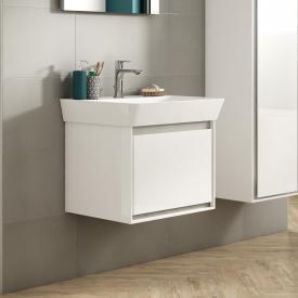Ideal Standard Connect Air Waschtisch mit Waschtischunterschrank mit 1 Auszug weiß