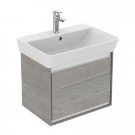 Ideal Standard Connect Air Waschtischunterschrank mit 1 Auszug eiche grau dekor/weiß matt