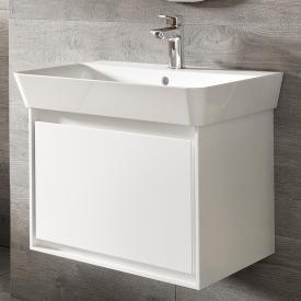 Ideal Standard Connect Air Waschtischunterschrank mit 1 Auszug weiß glänzend/weiß matt