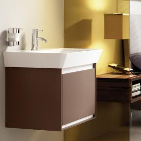 Ideal Standard Connect Air Waschtischunterschrank mit 1 Auszug braun matt/weiß matt